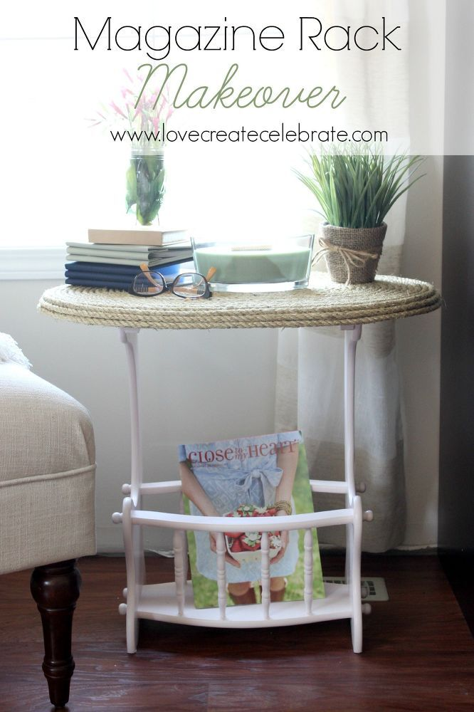 I just LOVE the feeling of scoring a great thrifted piece of furniture to makeover! That's how I felt when I found this incredible traditional magazine rack. It…