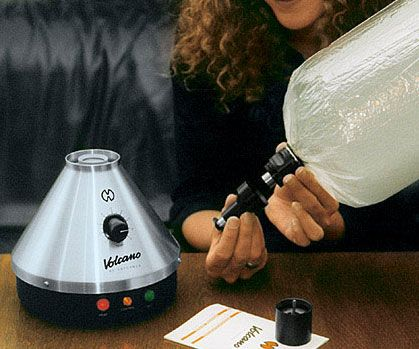 The Volcano Vaporizer