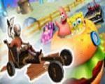 Em Racers Revolution 3D, junte-se a Bob Esponja, Avatar e Pinguins neste super desafio. Escolha o seu personagem favorito e comece uma super corrida. Você terá que ser muito habilidoso para conseguir terminar em primeiro lugar. Cuidado com os obstáculos em seu caminho, não se esqueça de pegar todos os itens possíveis. Divirta-se!