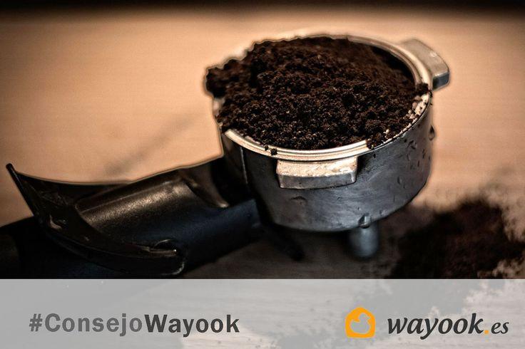 #ConsejoWayook: Desatasca las cañerías vertiendo los posos del café y dejándolos actuar durante una hora.