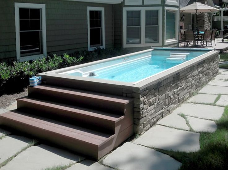Best 20 Above Ground Fiberglass Pools Ideas On Pinterest