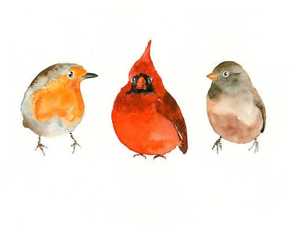 THREE little BIRDS  by DIMDImini Special Edition  by dimdimini, $19.00