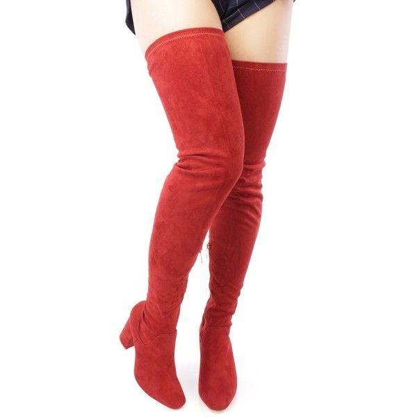 Red evening dress knee length gladiator