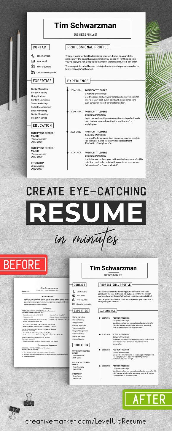 Resume Template / CV Template  @creativework247