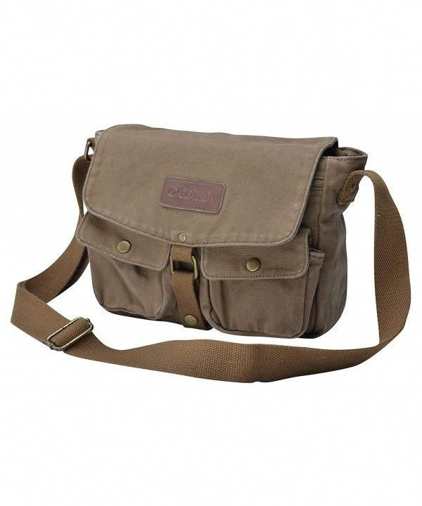 78a0b08cdc80 Luggage & Travel Gear, Messenger Bags, Canvas Messenger Bag ...