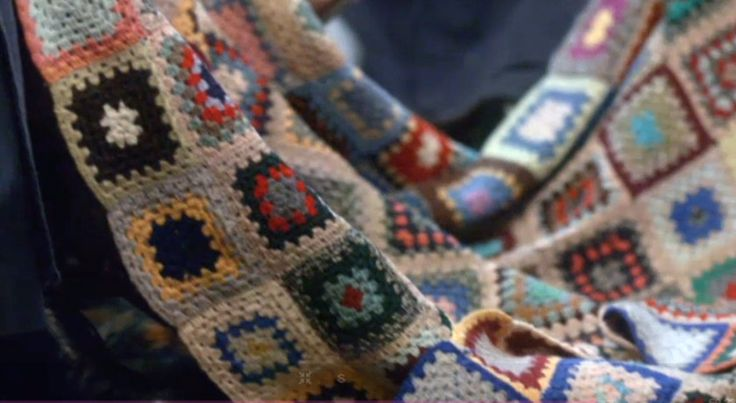 The crocheted blanket featured in series 2, episode 8 of Call the Midwife TV series.