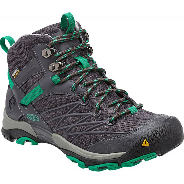 Women's KEEN Marshall Waterproof hiking boots in Magnet / Emerald - Available at Becker Shoes