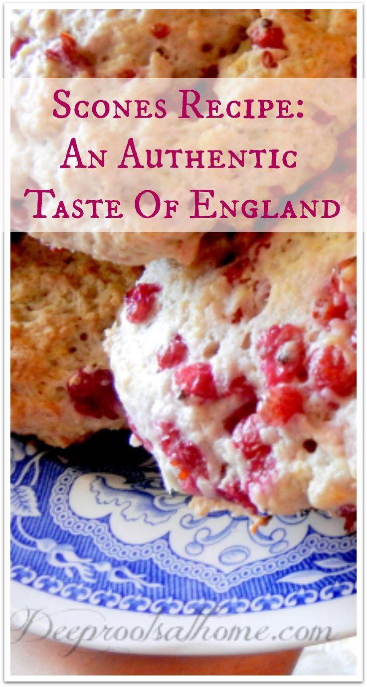Authentic Scones Recipe: A Taste Of England