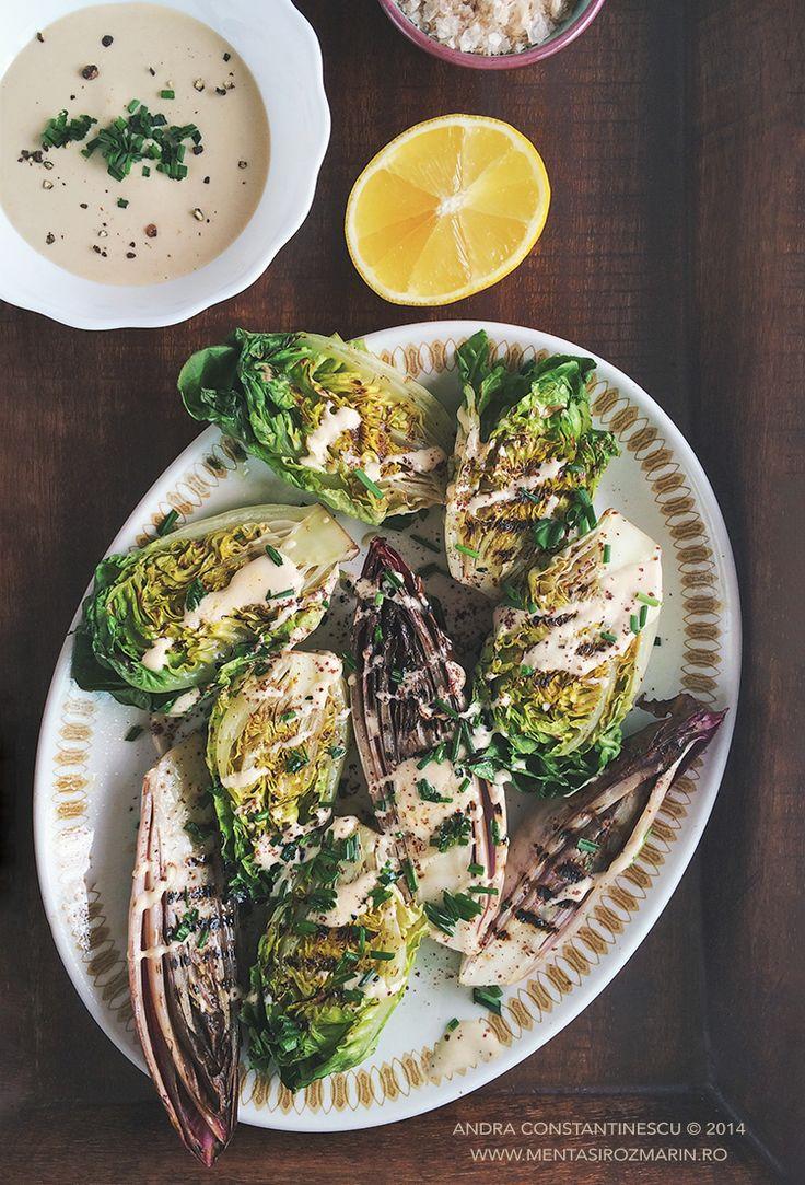 Salata verde + Andive + Tahini = L O V E - Menta & Rozmarin