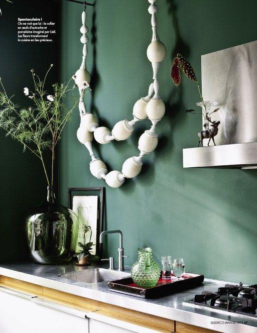Épinglé par Amandine sur Déco | Deco vert d'eau, Deco, Peinture vert d'eau