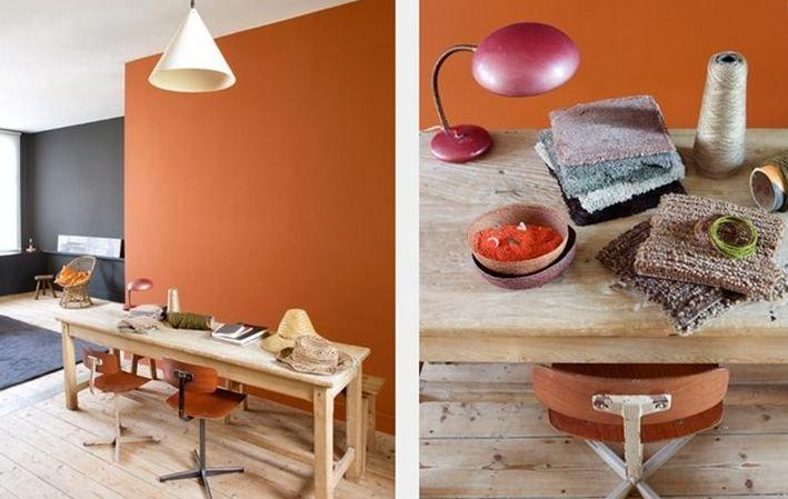 Keuken Rood Verven : Kleurenpsychologie: de betekenis en het effect van oranje verfkleuren