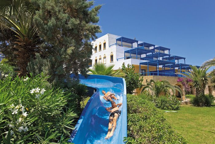 """""""Like"""" if your kids will love Amilia Mare's 93m #waterslide. Find Aldemar's biggest waterslide here:  http://bit.ly/1GXoGAe #dreams"""