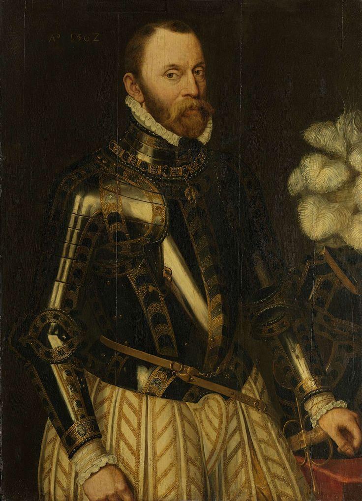 Philippe de Montmorency (1524-68), graaf van Hoorne. Admiraal der Nederlanden, lid van de Raad van State, copy after Anthonis Mor, 1562