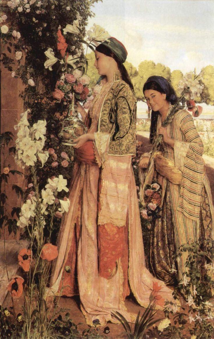 The Rose Gatherers, John Frederick Lewis