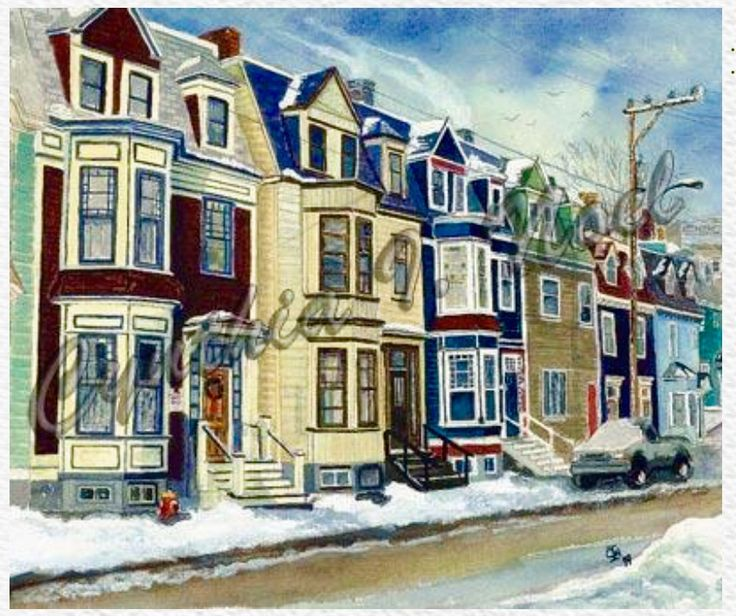 Gower After The Storm, St. John's, NL (SOLD)