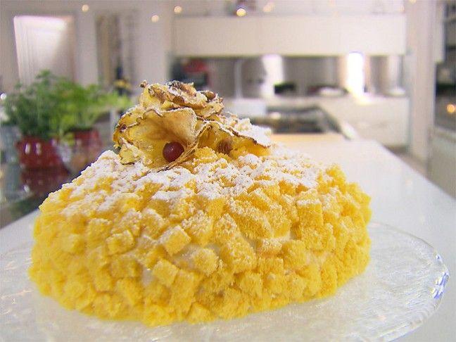 Ricetta torta mimosa all'ananas | Peccati di Gola