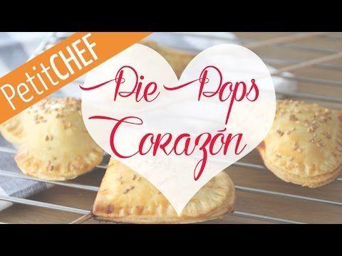 Receta Pie Pops de Corazón, San Valentin. Petitchef.es, paso a paso - St...