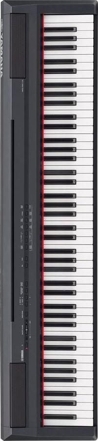 Yamaha P-105 88-key Black Digital Piano With Weighted Keys