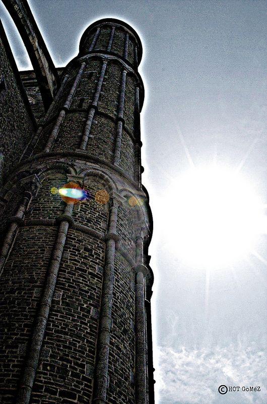 Bruges Sun Study