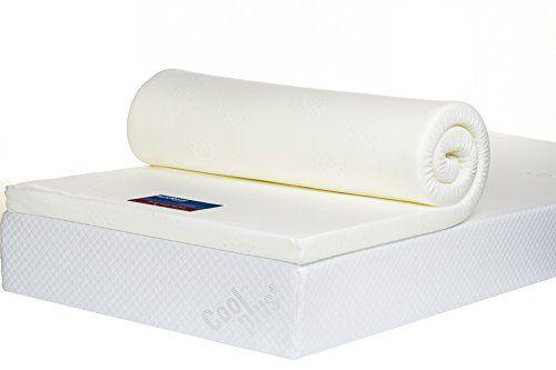 """Bodymould 2"""" Small double - 4ft - Memory Foam Mattress Topper: £56"""
