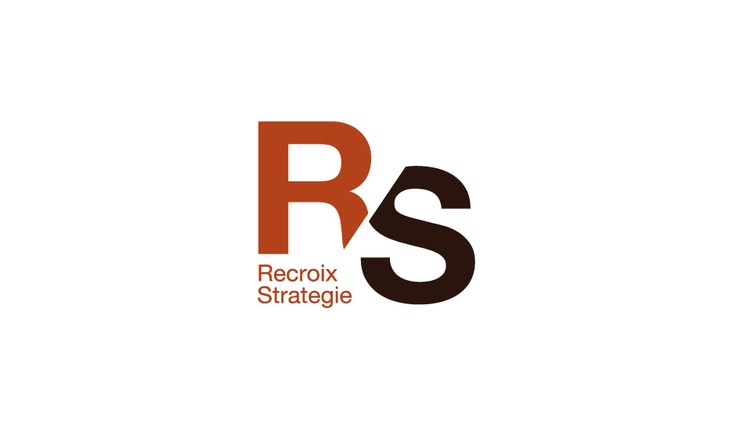 Recroix Strategie - logo for consultancy firm. Logo design by Pub Up.
