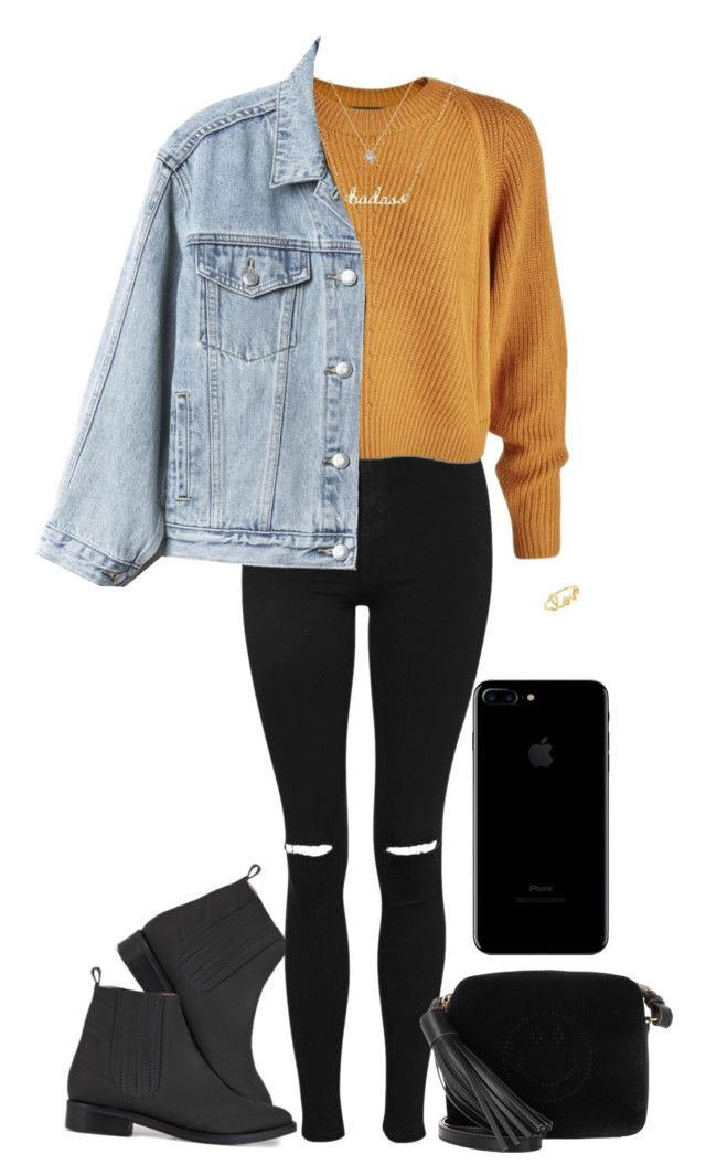 """into the city"" by an-island-rarity on Polyvore featuring Opening Ceremony, Topshop, Gap, Anya Hindmarch and Sydney Evan"
