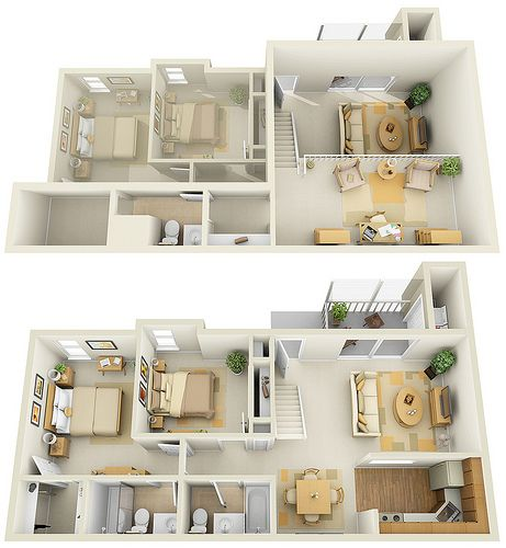 17 Best Images About 3D Floor Plans For Sims On Pinterest