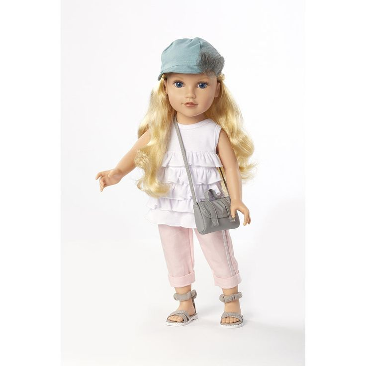 Journey Girls 18 inch Doll - Meredith (Blue Hat White Shirt Pink ...