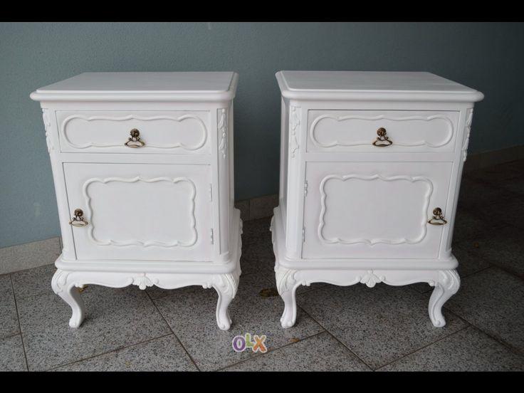 Mesas de cabeceira Vintage