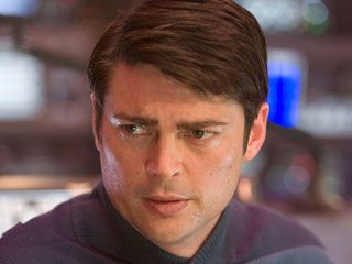 """FUN FACT: Karl Urban made up the line """"All I got left is my bones"""" on set. JJ Abrams loved it so much they kept it in the movie. another reason to love Karl Urban. {Bobbie adds: Karl was the absolute perfect choice for McCoy}"""