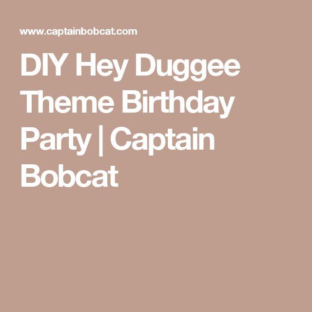 DIY Hey Duggee Theme Birthday Party | Captain Bobcat