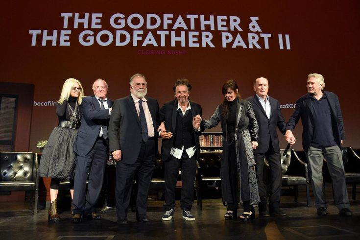 'The Godfather' cast discuss Al Pacino's height and Marlon Brando's balls at Tribeca reunion