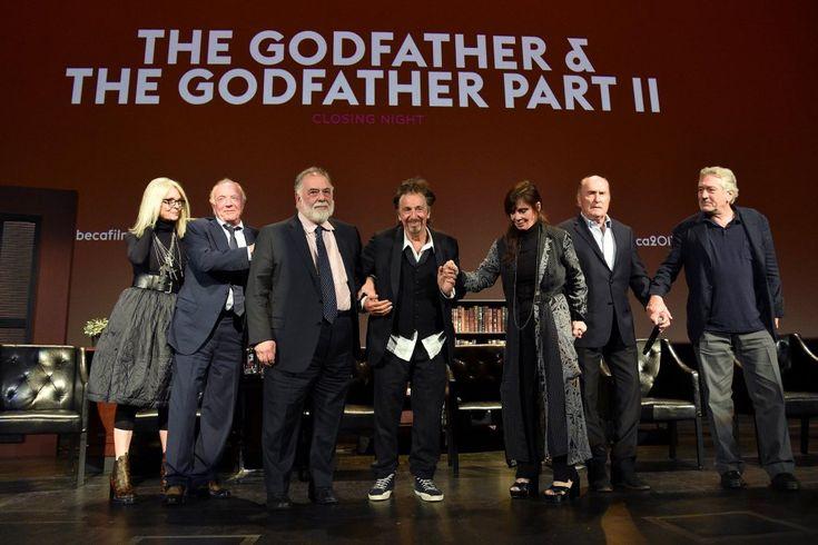 'The Godfather' cast discuss Al Pacino's height and Marlon Brando's balls at Tribecareunion