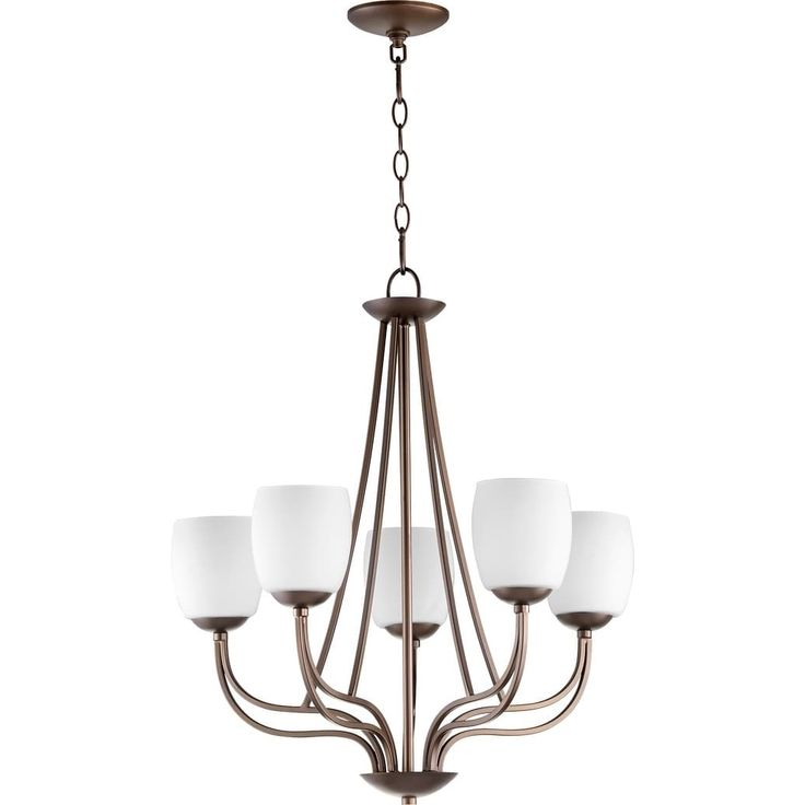 Quorum International Willingham Family 5 Light Transitional Chandelier