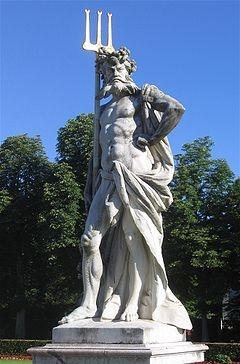 Pluto the Roman god of the underworld (equivalent to Hades in Greek Mythology)
