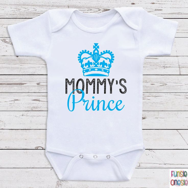"Cute Bodysuits For Babies ""Mommy's Prince"" Long and Short Sleeve One Piece for Boys, Baby Shower Gifts, Newborn Clothing, Baby Clothes A31 by NewbornBabyClothes on Etsy https://www.etsy.com/listing/212763140/cute-bodysuits-for-babies-mommys-prince"