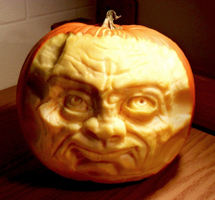 Eric rosenberg art pumkin carvings food pinterest