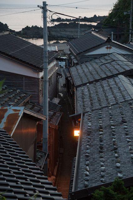 Syukunegi, Sado Island, Niigata, Japan 佐渡 宿根木