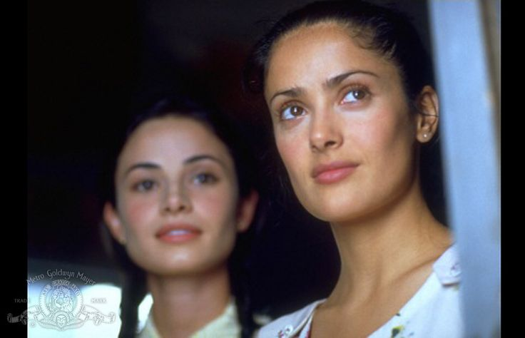 Salma Hayek and Mía Maestro in In the Time of the Butterflies (2001)