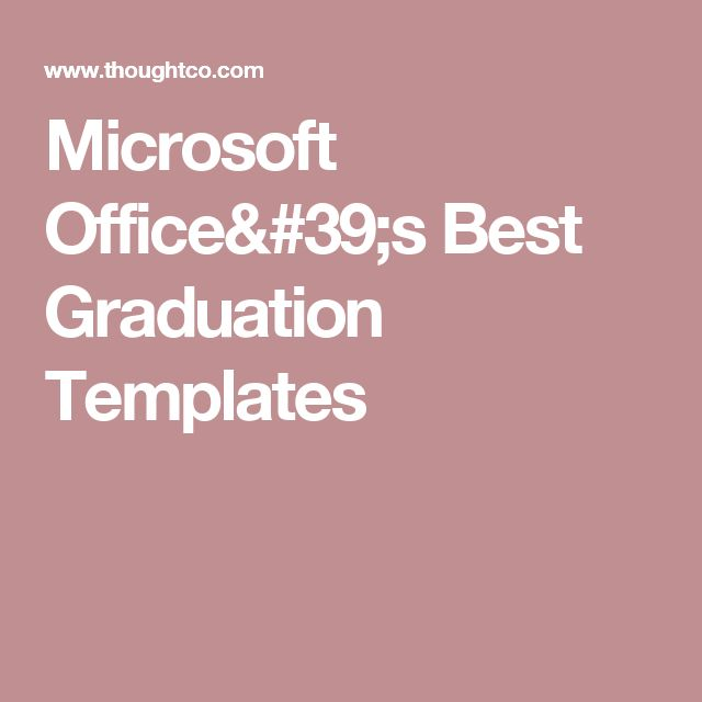 Mer enn 25 unike ideer om Graduation templates på Pinterest Cv - microsoft office invitation templates