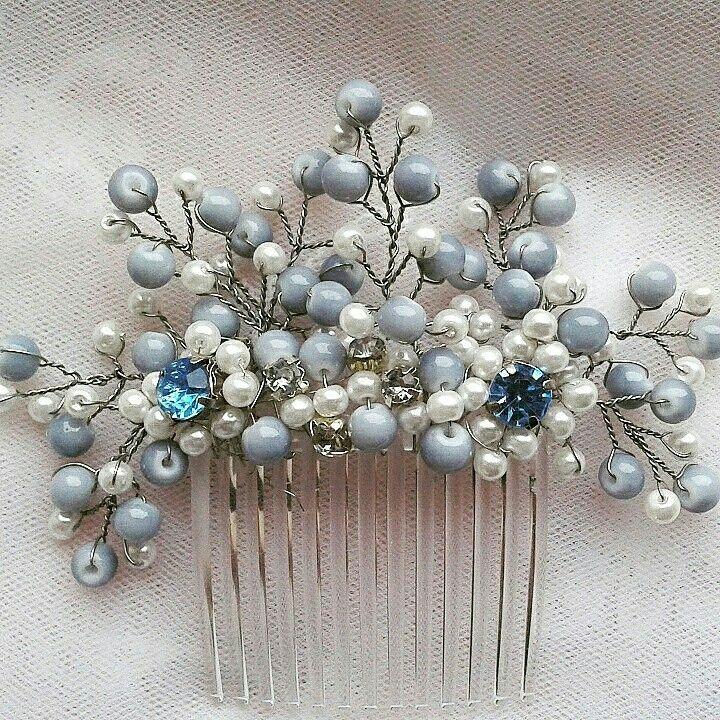 Blue haircomb