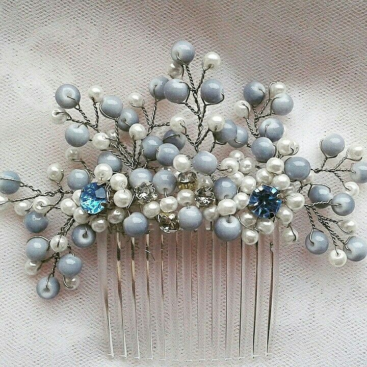 Blue haircomb