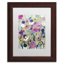 """""""Too Pretty To Pick"""" by Carrie Schmitt Framed Painting Print"""