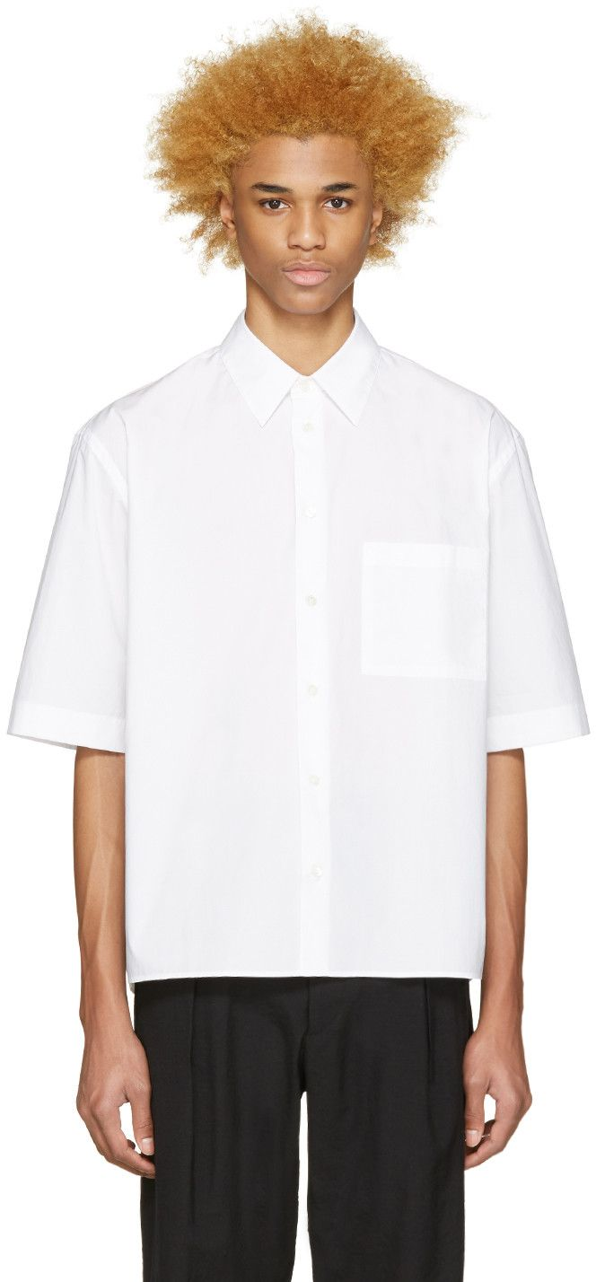 Marni - White Short Sleeve Shirt