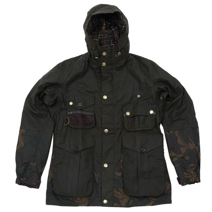 Barbour x Tokihito Yoshida Camo Fishing Jacket (Olive)
