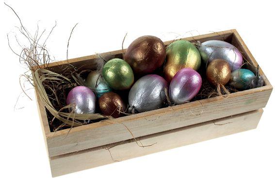 Kauniit pääsiäismunat Inka Gold -vahalla. Tarvikkeet ja ideat Sinellistä!
