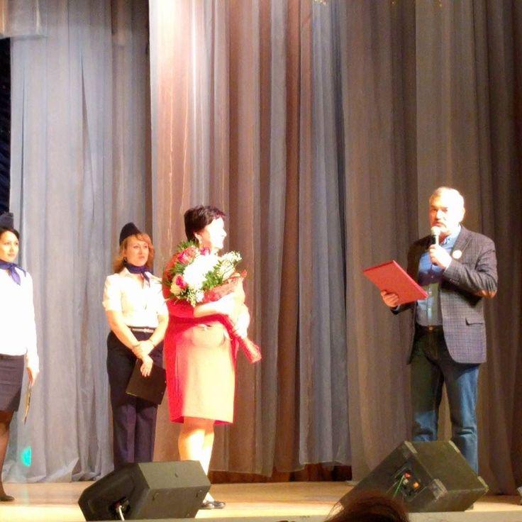 Газету Орбита с 25-летием поздравляет глава ЗАТО Знаменск В.Н. Дубровченко