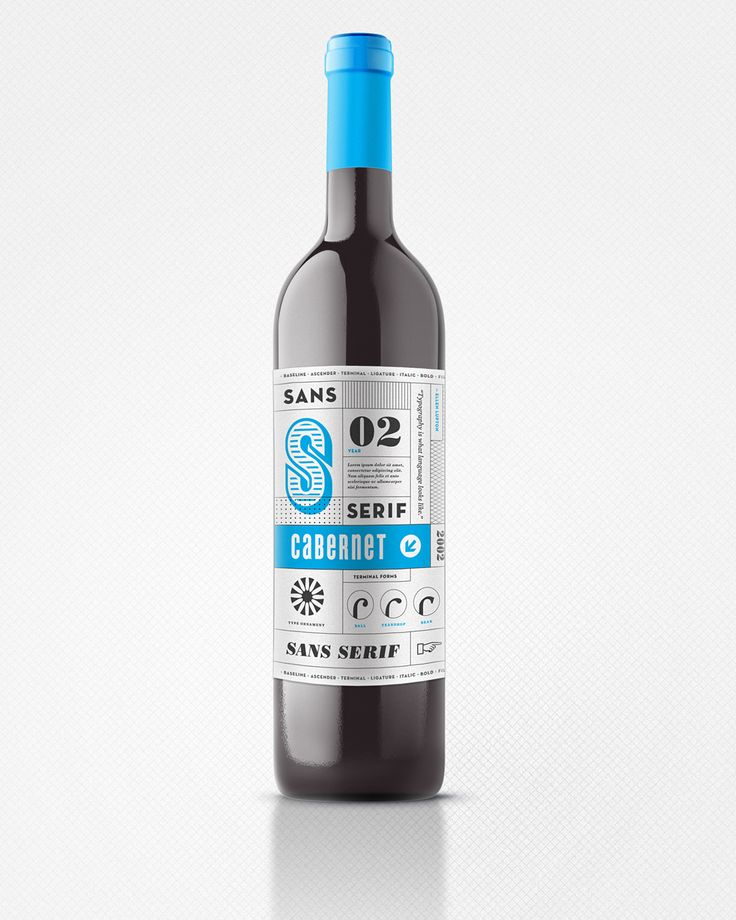 Type Junkie - eleventheleven: Sans/Serif Wine Sans/Serif is a...