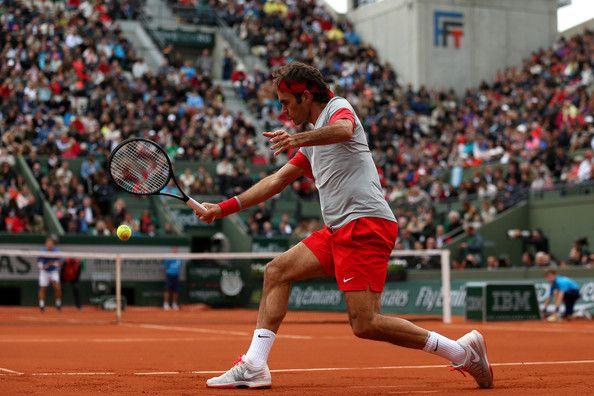 Roger Federer - French Open: Day 4