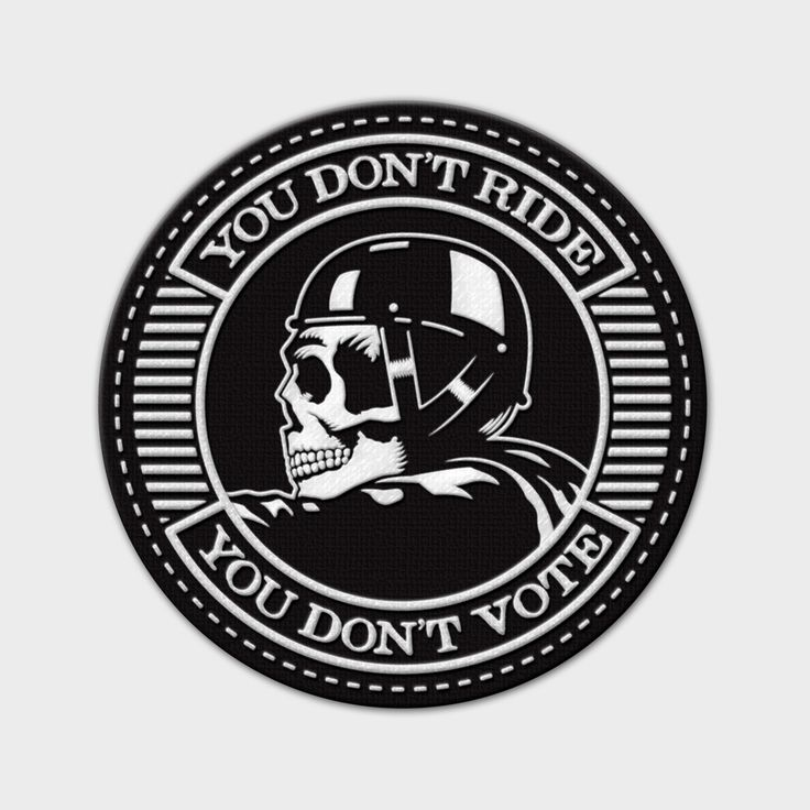 SOA - You don't ride, you don't vote